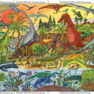 Puzzle géant Dinosaures