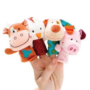 Marionnettes à doigts Ferme