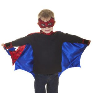 Cape Spiderman et ses accessoires
