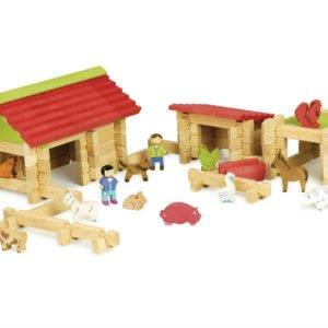 Première ferme en bois