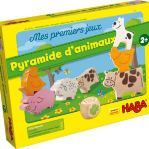 Pyramide d'animaux jeu d'adresse