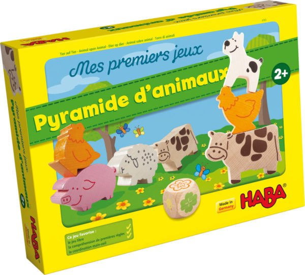 Pyramide d'animaux boite