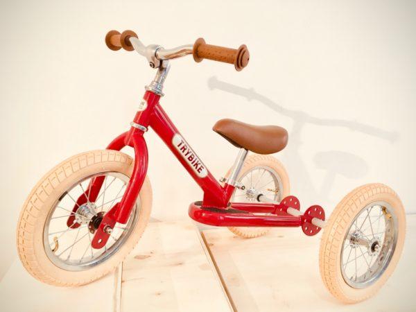 Trybike 3 roues rouge vintage