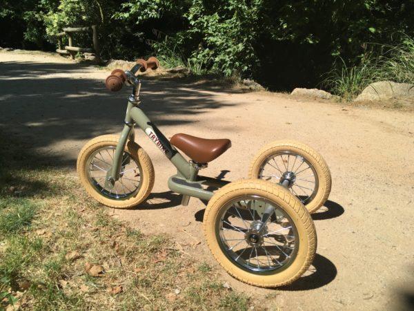 Trybike 3 roues vert vintage