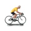 Cycliste jaune